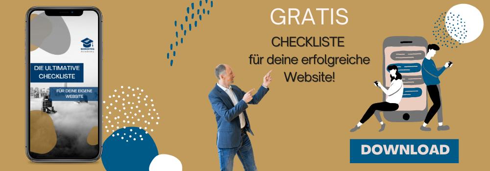 Webdesign Checkliste für mehr Umsatz